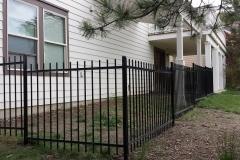 Iron Fence - Black