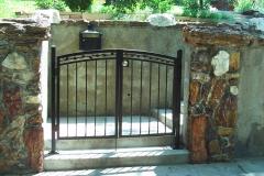 Ornamental Iron Entry Gate