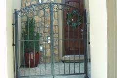 Ornamental Iron Gate Design - Entrance