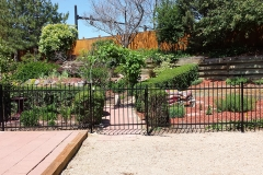 Commercial Ornamental Iron Fence