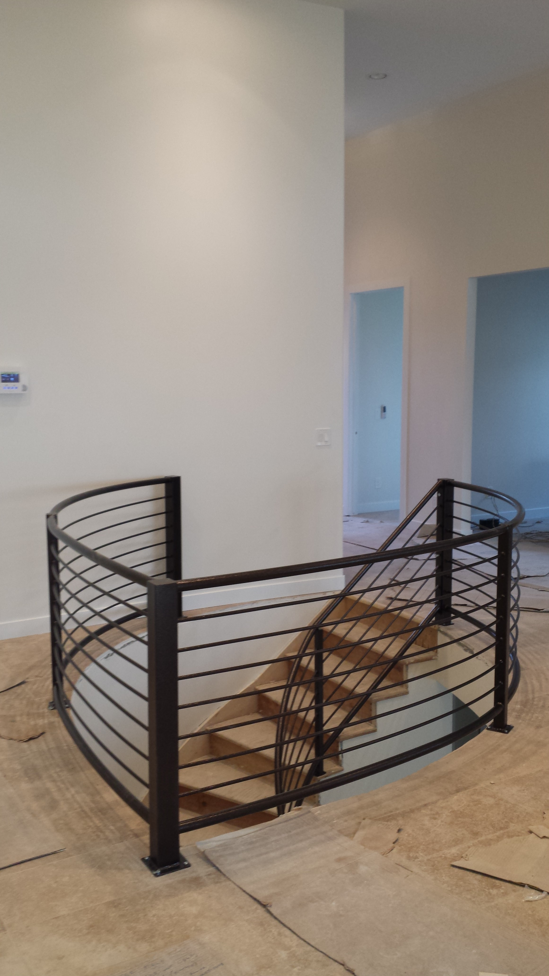 balcony stir ideas modern standards size and staircase post industril deck kits rail standard tread stircse bnister regs hndril interior banister building above australian full stairs railing step min regulations on best guard for handrails stair code height of handrail