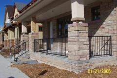 metal balustrade handrail