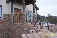 Iron Handrails exterior