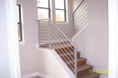 Iron Rails Stairs