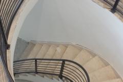 metal balcony handrail