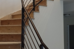 metal handrails for steps