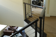 Horizontal Iron Handrails