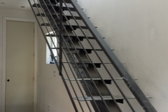 metal stair rail
