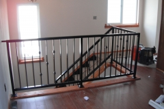 Iron Handrails horizontal interior