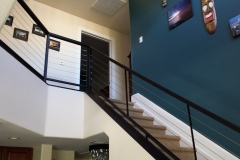 Iron Rails Stairs