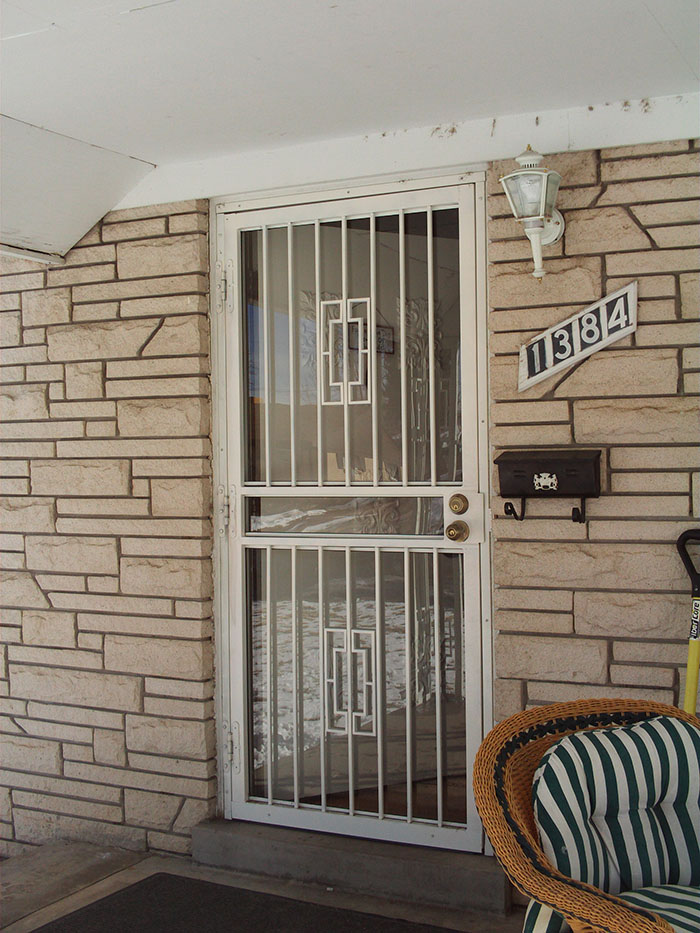 Security Doors Affordable Ornamental Iron