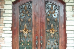 Artistic Iron Door