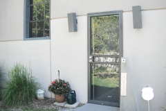 metal security door design and installation
