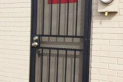metal security door grills