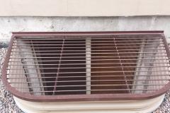 Ornamental Iron Window Well cover